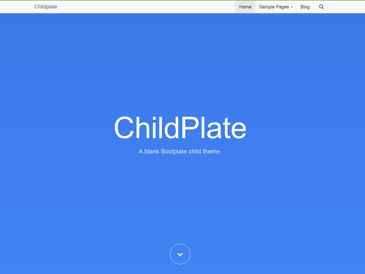 bootplate-child-screenshot